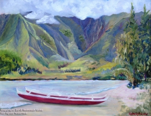 """Hokulea Beach"" by Rebekah Luke"