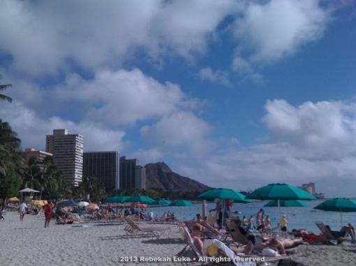 Waikiki © 2013 Rebekah Luke