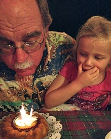 """Now make a wish and blow out the candles!"""