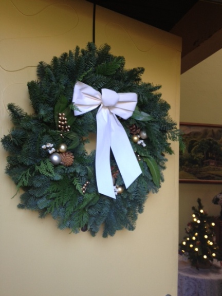 wreath entry